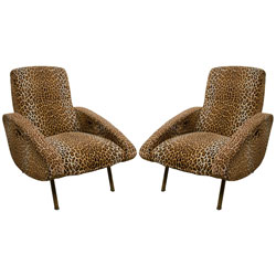 Pair of Rare Marco Zanuso Armchairs(SOLD)