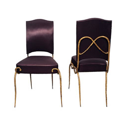 Pair of Rene Drouet Chairs (SOLD)