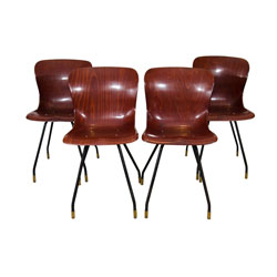 Set of 4 Pagholz Model 1507 Chairs
