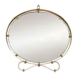 Decorative Brass Italian Wall Mirror