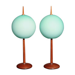 Gorgeous Pair of Italian Table Lamps