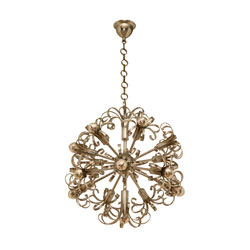 Metal Floral Sputnik(SOLD)