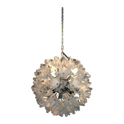 Venini Glass Sputnik Ceiling Light