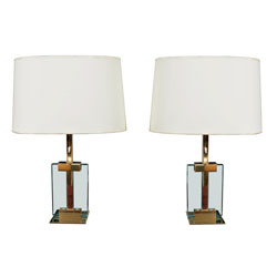 Pair of Table Lamps by Fontana Arte