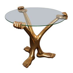"Pedro Friedeberg ""HandFoot"" Coffee Table (SOLD)"