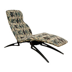 Italian Reclining Lounge Chair
