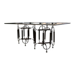 Roberto Gabetti & Aimaro Isola Glass Dining Table (SOLD)