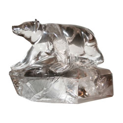 Rock Crystal Bear