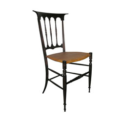 Set of Four Chiavari Dining Chairs