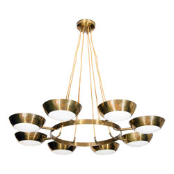 Stilnovo 8 Cup Chandelier