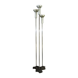 Trio Gino Sarfatti No. 1073 Floor Lamps