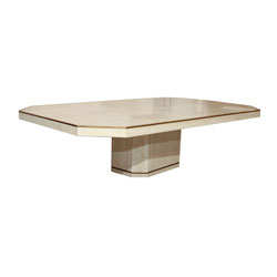 Willy Rizzo Travertine Coffee Table (SOLD)