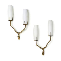 Pair of Sconces by FELIX AGOSTINI