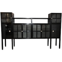 "Leon Rosen For PACE Collection ""Piombo"" Cabinet"