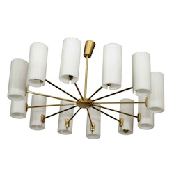 Italian Multi-Arm Ceiling Light