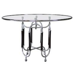 Roberto Gabetti & Aimaro Isola Dining Table Round Table TRI6