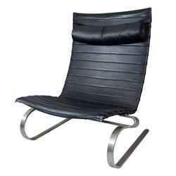 Poul Kjaerholm PK 20 Springing Leather Chair