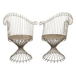 """Mathieu Matégot """"Anthéor"""" Dining Chairs"""