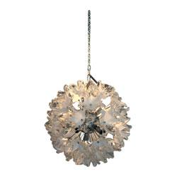 Venini Glass Sputnik Ceiling Light