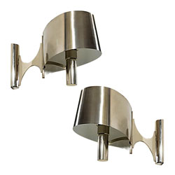 Pair of Maison Charles Wall Sconces