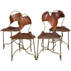 """Rob Eckhardt Set of four """"Dolores"""" Chairs by Rob Eckhardt"""