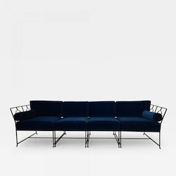 """Tommi Parzinger """"American Modern"""" Sectional Sofa by Salterini"""