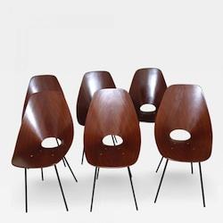 """Vittorio Nobili """"Medea"""" Chairs"""